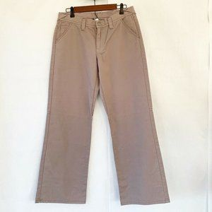 Patagonia Chino Pants Beige Welt Pockets 8